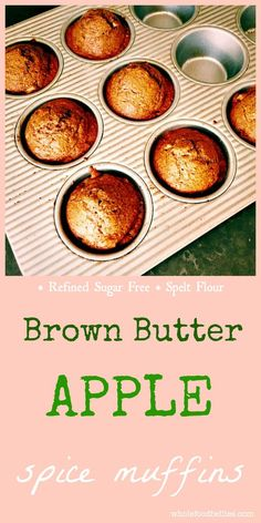 Read More About Brown Butter Apple Spice Muffins Lunch Box Recipes, Best Dinner Recipes, Fall Recipes, Breakfast Recipes, Snack Recipes, Budget Recipes, Delicious Recipes, Donut Recipes, Muffin Recipes