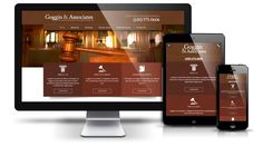 Our law firm clients love us. We delivered Goggin & Associates a custom design with beautiful high resolution images. The website was built in WordPress with responsive views for mobile devices.  Contact us today and visit www.web312.com or call 312-348-7244!