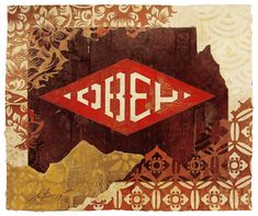 1f9032ff795 Retired Stencil   Studies Archives - Obey Giant. Shepard Fairey ...