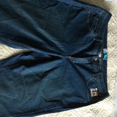 """24W Short - modern boot cut jeans 29 3/4"""" inseam - 42 1/4"""" out seam - Just My Size Jeans Boot Cut"""