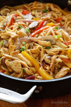 light cajun chicken pasta