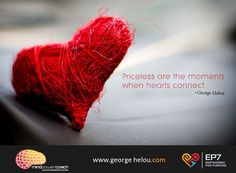 When hearts connect...