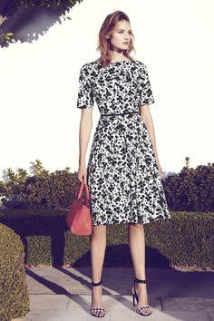 Print Sateen Fit & Flare Dress (Regular & Petite)  Sponsored by Nordstrom Rack.
