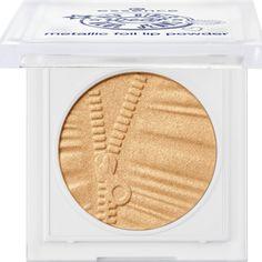 metallic foil lip powder 01 I'm gold and I know it! - essence cosmetics