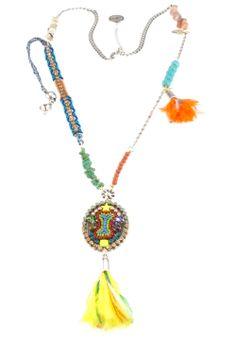Colorful Bibi Bijoux necklace www.bijouxstore.nl