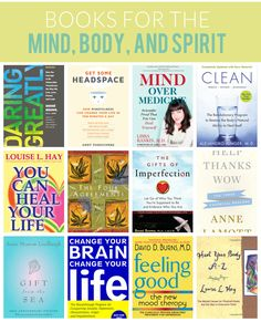 books for the mind body and spirit