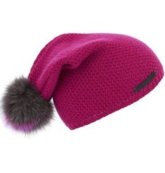 3fd7665237c Fendi Pink Hat With Fur Pompom