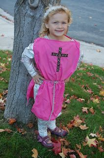 St. Joan of Arc All Saints Day costume  sc 1 st  Pinterest & Our Lady of Mt. Carmel Costume and a few more costume ideas for All ...