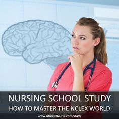 Study Resources for Nursing School: NCLEX-RN strategies, grade-boosting methods, using the nursing process, study products, & more tips for Student Success at iStudentNurse