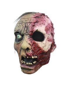 Burnt Zombie Maske #HalloweenMask #Mask #LatexMask #HorrorMask #Zombie #ZombieMask
