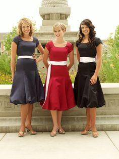 hemsandsleeves.com modest bridesmaid dresses (05) #cutedresses