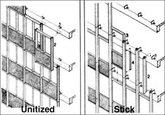 unitized vs. stick curtainwalls