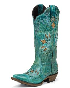 Black Star Boots Women's Hidalgo Boot - Turquoise