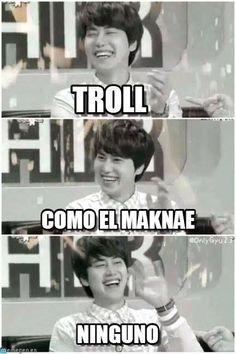 Maknae troll