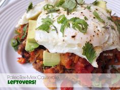Paleo Tex-Mex Casserole (Gluten & Dairy Free) on www.PopularPaleo.com | The casserole is great, but the leftovers are even better! Reheat and top with a poach or sunny-side up egg... add hot sauce too!