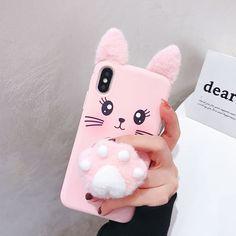 diy phone case 796714990309136425 - Kawaii Lucky Cat Iphone Case Source by Fluffy Phone Cases, Girly Phone Cases, Diy Phone Case, Iphone Phone Cases, S7 Phone, Pink Iphone, Case For Iphone, Disney Phone Cases, Iphone Cases Cute
