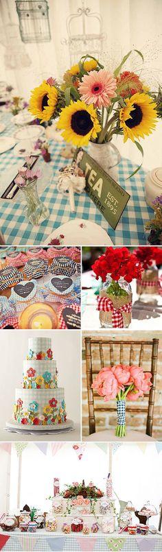 kreative Hochzeit Dekoration mit Fraktalbild Abziehbild Chevron Polka Dot Plaid Tischdeko Candy Bar DIY kreative Hochzeit Dekoration mit Fraktalbild, Abziehbild, Chevron, Polka Dot, Plaid