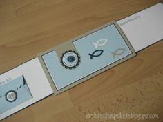 Karten zur Konfirmation Communion, Interactive Cards, Usb Flash Drive, Stampin Up, Scrap, Wallet, Creative, Form, Ben