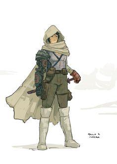 http://paulohjp.deviantart.com/art/Steampunk-Character-Design-409196591