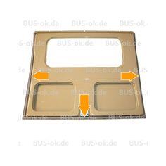 Dichtung für die Heckklappe des  VW Bus T1 von 3.55 - 7.63  Moosgummi, Top-Qualität!  Vergleichsnummer 211 829 193 B