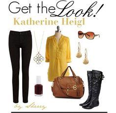 Kathrine Heigl inspired.