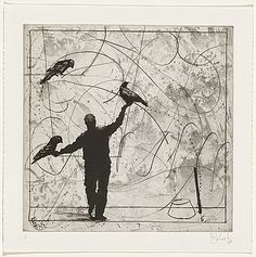 William KENTRIDGE, Bird catching series