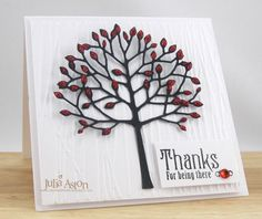 IC330 Thanks for Being There. by artystamper - Cards and Paper Crafts at Splitcoaststampers