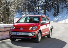 Volkswagen Cross Up Compact Crossover Launched In Germany