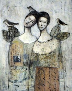 Mixed Media by Misty Mawn.  Love this!