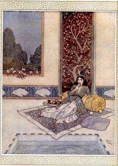 Sherazade par Edmond Dulac, 1911