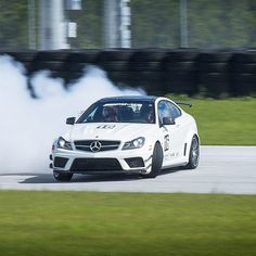 As @therealrickiefowler can testify, no track day at @amgacademy is complete without a perfectly executed power slide.  #mercedes #benz #instacar #luxury #germancars #carphotography #carsofinstagram #AMG #atthetrack