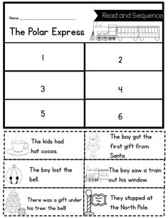 One of the things I miss most about teaching first grade is Polar Express week. I have so many fond memories of Polar Express fun. At the b...