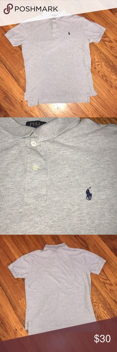 New Polo by Ralph Ralph Lauren shirt New grey Polo by Ralph Lauren shirt Polo by Ralph Lauren Shirts Polos