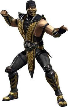 Mortal kombat 9 старый костюм рептилии
