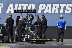 """Tony """"The Sarge"""" Schumacher and Team Testing during the Pre-Season"""