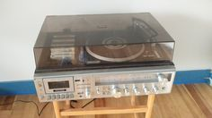 Restoring and Setting Up a Zenith IS 4175 Turntable & Cassette Deck Stereo Receiver (#QuickCrafter)
