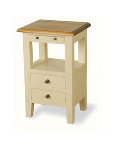 narrow side table with drawer is a perfect storage solution for small space