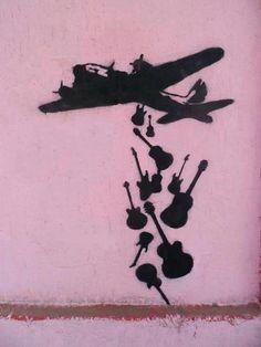 Unknown Artist: Make Music Not War