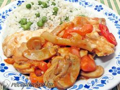 Hungarian Recipes, Shrimp, Chicken Recipes, Food And Drink, Turkey, Dishes, Diet, Turkey Country, Tablewares