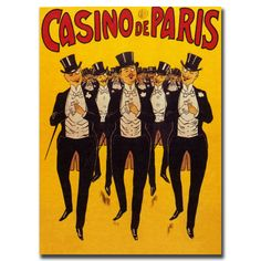 Vintage Art 'Casino de Paris' Wall Art
