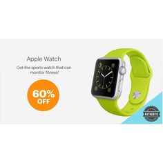 Apple Watch, Supreme, Smart Watch, Monitor, Blue Green, Watches, Canning, Fitness, Modern