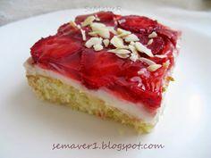 SeMaVeR: Çilekli Kolay Pasta