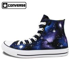 153df3bc61 Sneakers Galaxy Converse Chuck Taylor High Top Washable Custom Hand Painted  Shoes Men Women Gifts Galaxy