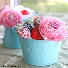 DIY lollipop flowers 2