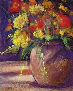 Original pastel painting by Karen Margulis psa 8x10