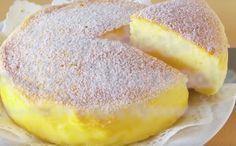 Japanilainen juustokakku. Tarvitset vain kolmea ainesta, joista voit luoda taivaallisen juustokakun — maista ja rakastu! – Herkkusuu.fi