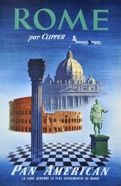PAN AM, Rome par Clipper