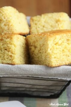 Cornbread for Breakfast or as a side? Either way this Easy Southern Cornbread will beat out any mix and goes together really fast.