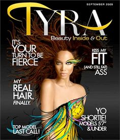 The website turns one and Tyra celebrates dedicating the cover to one of the girls of America's Next Top Model. Love Magazine, Beauty Magazine, Magazine Covers, Jill Goodacre, Sarah Stage, Veronica Webb, Niki Taylor, Wale, Tyra Banks
