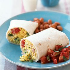 37 easy camping recipes | Scrambled-Egg Tacone | Sunset.com